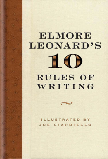 rules of writing a book